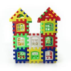 RẺ VÔ ĐỊCH-GIÁ GỐC-- Bộ đồ chơi lắp ráp hình ngôi nhà nhiều chi tiết cho bé (giao màu ngẫu nhiên) AN8