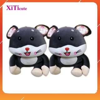 Gối ôm cho bé thú nhồi bông chuột Hamster dùng để làm gối ôm, quà tặng người thương, đồ chơi cho bé hoặc vật trang trí - x2197s6 thumbnail