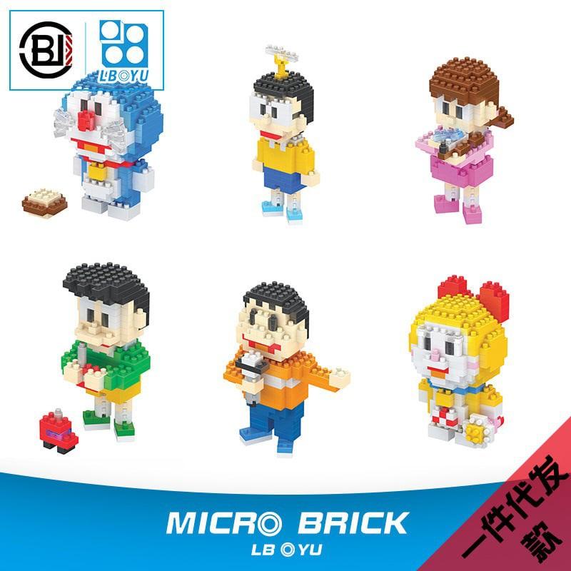 Mini Blocks - Mô hình lắp ghép 3D Doraemon & Friend (size S dưới 10cm) - Doraemon&Friend 2