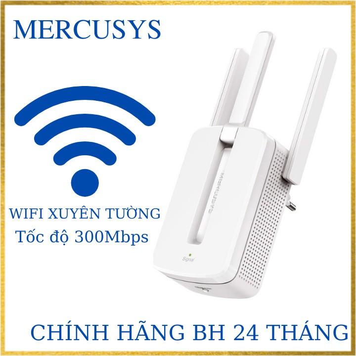 Bộ kích sóng wifi 3 râu Mercusys chính hãng phiên bản mới nhất