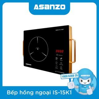 Bếp Điện Hồng Ngoại Cảm Ứng Asanzo IS-15K1 (Không Kén Nồi, Mặt Kính Chịu Nhiệt, Cảm ứng cao cấp) - IS-15K1 thumbnail