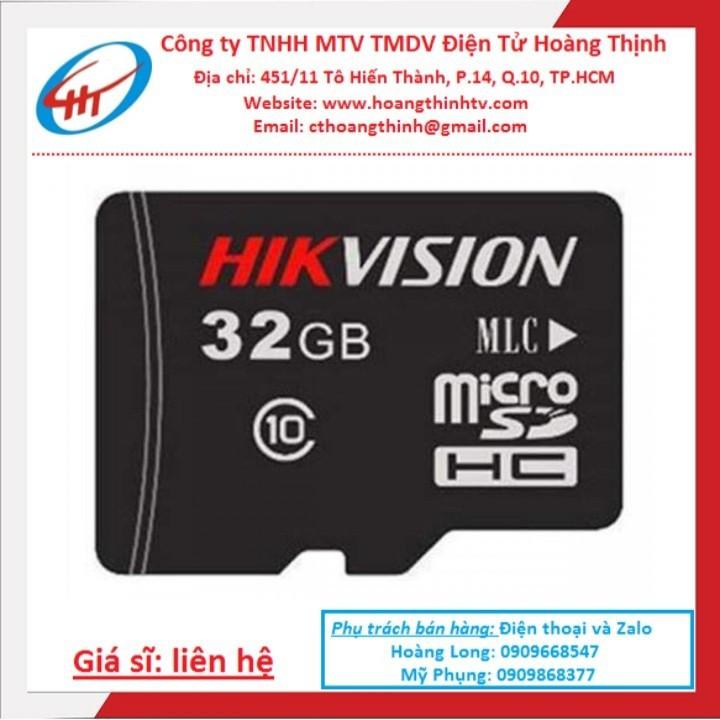 Thẻ Nhớ 32G Hikvision Chính Hãng Bảo Hành 5 NĂM