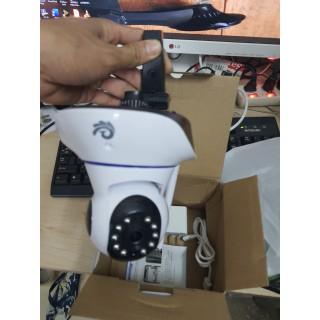 Camera Wifi 3 Râu CARECAM 2.0MPX, độ phân giải FULL HD 1920x1080p - Xoay 355 độ
