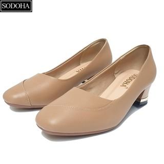 Giày Cao Gót Nữ SODOHA SD361 Mẫu Mới Đế Cao 5cm - SD361 thumbnail