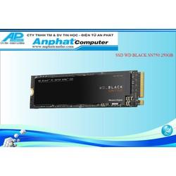 SSD WD-BLACK SN750 250GB NVME PCIe Gen3 x4 Chính Hãng Bảo Hành 60 Tháng