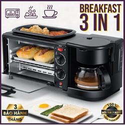Lò nướng kiêm máy pha cà phê KZC-9L-K - Lò nướng đa năng 3 trong 1