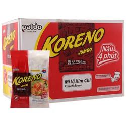 E - Thùng 10 túi mì Koreno Jumbo vị kim chi 1kg