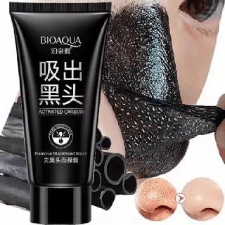Gel Lột Mụn Và Thải Độc Than Tre Bioaqua 60g 1 bước tiện lợi hút sạch mụn cám bã nhờn và bụi bẩn cho làn da sạch mụn mịn màng trắng sáng - i7y-SKU2 thumbnail