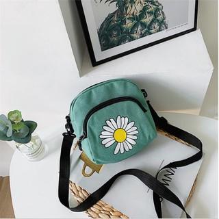 Túi vải đeo chéo nữ - túi tote đựng điện thoại hoa cúc họa mi siêu hot - TV007 - TV007 thumbnail