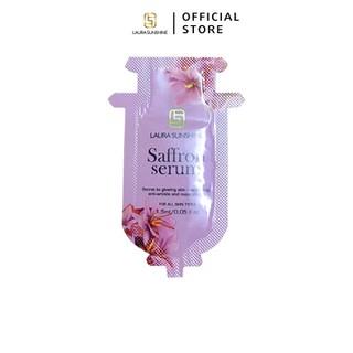 1 gói Serum dưỡng trắng tinh chất Nhuỵ hoa nghệ tây Laura Sunshine Saffron Serum Mini ( 1 gói 1,5ml) - SERUMSAFFRON thumbnail
