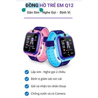 Đồng hồ định vị trẻ em Q12 chống nước lắp được sim - 8600406230 6