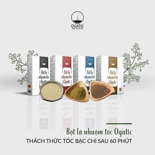 Combo 2 hộp bột lá nhuộm tóc thảo dược Ogatic các màu ( NÂU, ĐEN, NÂU ĐỎ, XANH ĐEN) - 100G 2HỘP - 2 HỘP OGATIC thumbnail