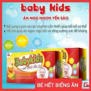 Siro Yến sào Babykid giúp bé ăn ngon - phát triển tốt - chính hãng - yến sào babykid thumbnail