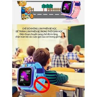 Đồng hồ định vị trẻ em Q12 chống nước lắp được sim - 8600406230 7