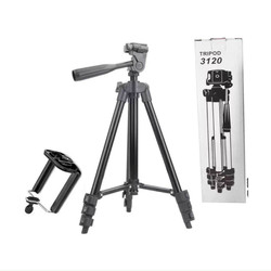 Gậy Tripod suport 3120 hỗ trợ chụp ảnh, quay phim , bằng nhôm và thép cứng