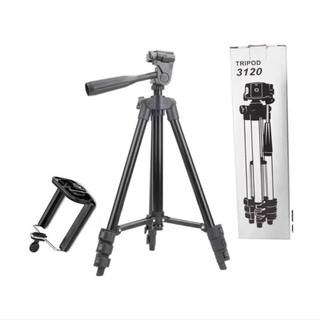 Gậy Tripod suport 3120 hỗ trợ chụp ảnh, quay phim , bằng nhôm và thép cứng - 9700497336 thumbnail