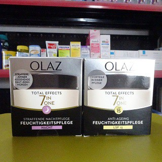 Kem Dưỡng da OLAZ total effect 7in1 Kem dưỡng ẩm Olay kem dưỡng ẩm ngày OLAZ kem dưỡng ẩm đêm OLAZ chống lão hóa da - 5755381492 thumbnail