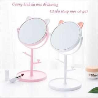 Gương trang điểm để bàn - Gương trang điểm để bàn thumbnail