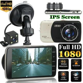 Camera hành trình ô tô trước sau On-Tek T002 FULL HD 1080P - Chế độ ghi đè tự động - Camera hành Trình OTO T002 thumbnail
