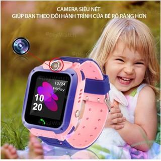 Đồng hồ định vị trẻ em Q12 chống nước lắp được sim - 8600406230 4