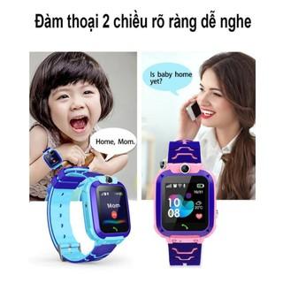 Đồng hồ định vị trẻ em Q12 chống nước lắp được sim - 8600406230 5