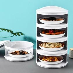 Lồng bàn giữ nhiệt, bảo vệ thức ăn cao cấp - loại đắt 5 tầng