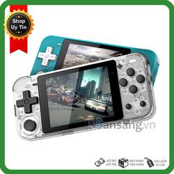 Máy Chơi Game Cầm Tay 15 Hệ Playstation, GameBoy ( PS1/PSP/GBA/SNES/FC/SEGA v..v ) Màn Hình IPS 3 Inch Mã Nguồn Mở