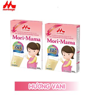 Combo 2 hộp Sữa bầu Morinaga dành cho phụ nữ thời kỳ mang thai và cho con bú Mori Mama - khác vị 200gr - cb2-morimama-2vi 4
