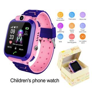Đồng hồ định vị trẻ em Q12 chống nước lắp được sim - 8600406230 2