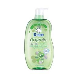 Sữa tắm gội Thái Lan Dnee Organic 380ml