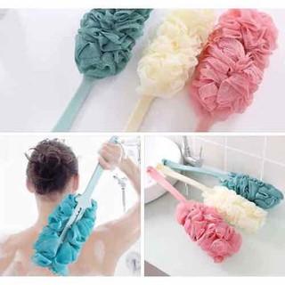 Cây bông tắm chà lưng có tay cầm - Bông tắm kỳ lưng - Ds cây bông tắm thumbnail