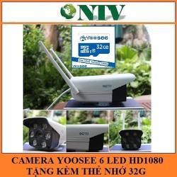 Camera Yoosee IP016 HD1080 TẶNG KÈM THẺ YOOSEE 32G ngoài trời chống nước