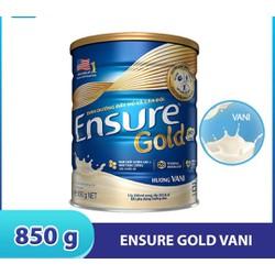 Sưa bột Ensure gold vani 850mg date mới