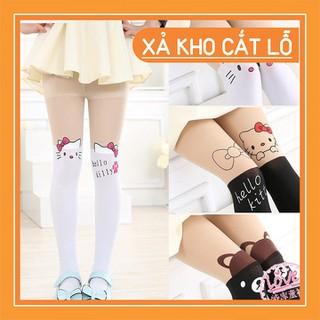 Quần tất giả bốt hello kitty cực xinh cho bé gái - TQHLKT-1 thumbnail