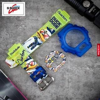Bộ phụ kiện đồng hồ Casio nhựa G-Shock DW-6900 DUCK DUDE - QY - G-Shock DW-6900 D thumbnail