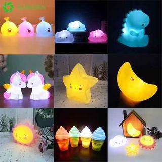 ĐÈN NGỦ SILICON dễ thương hàng loại 1 - đèn ngủ silicon 1 cái thumbnail