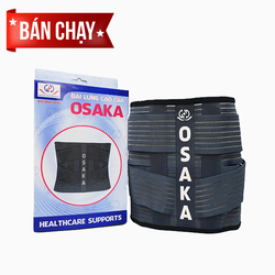 Giới thiệu sản phẩm Đai lưng hỗ trợ cột sống lưng cao cấp Osaka Nhật Bản