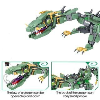 Chuỗi LEGO NINJAGO Lắp ráp xếp hình Ninjago 76053 Rồng xanh sấm sét huyền thoại của Zane 575 mảnh [ĐƯỢC KIỂM HÀNG] [ĐƯỢC KIỂM HÀNG] - 41758614 thumbnail