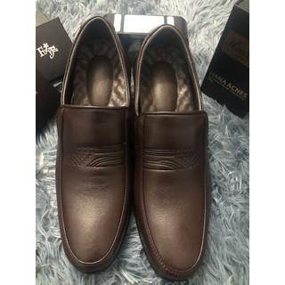 Giày Tây Da Nam-Tăng Chiều Cao 6Phân-Nâu-X464 - X464 - X464 - X464 thumbnail