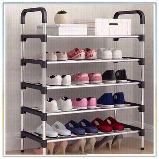 Kệ giày lắp ráp 5 tầng khung inox tiện lợi bền đẹp - Kệgiày .. thumbnail