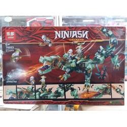 Chuỗi LEGO NINJAGO Lắp ráp xếp hình   Ninjago 76053 : Rồng xanh sấm sét huyền thoại của Zane 575 mảnh [ĐƯỢC KIỂM HÀNG] 38257830