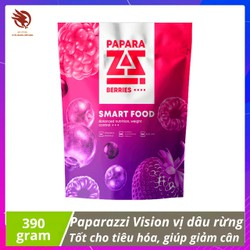 [ CHÍNH HÃNG ] - Thực Phẩm Paparazzi Vision - Bữa ăn dinh dưỡng lành mạnh đa Protein vị dâu rừng, Hỗ trợ cho việc giảm cân, căng cơ giảm mỡ - gói 390gr