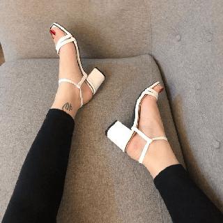 Giày sandanl mũi ngang viền gót siêu đẳng cấp - sb62837 thumbnail