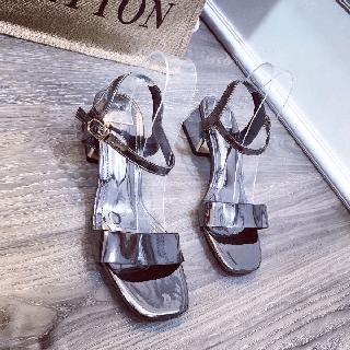 Giày sandal bản phối kim tuyến - dh62728 thumbnail