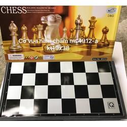 Bộ cờ vua nam châm to kích thước bàn 38x38cm.