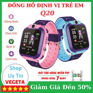 (Bảo Hành 12 Tháng) Đồng hồ định vị trẻ em Q20 Lắp Sim Nghe Gọi - Đồng hồ trẻ em Q20 thumbnail