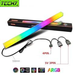 Thanh Led RGB Aura Sync Coolmoon đồng bộ Hub đồng bộ Hub + Sync với main 3Pin 5V cho máy tính