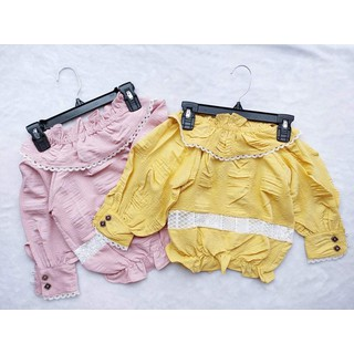 áo kiểu xinh cho bé gái - aophoibochun thumbnail