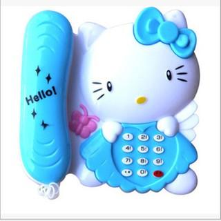 Đồ chơi điện thoại bàn mèo Kitty - Đồ chơi điện thoại bàn mèo Kitty thumbnail
