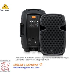 Loa Behringer PK112A - Dòng loa Active tiện ích - PK112A thumbnail